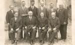 Conseil municipal d'OUGNEY-DOUVOT vers les années 1930